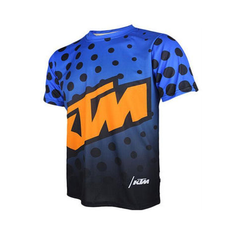 KTM Racing Mountain Bike Cycling T-shirt