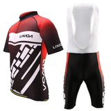Lixada Men's Cycling Jersey and 3D Cushion Shorts Padded Pants Set