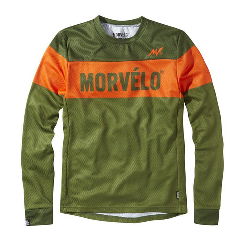 Morvelo Manoeuvre Mens Long Sleeve MTB Jersey