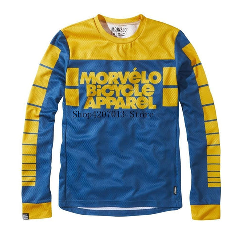 Morvelo Skool Mens Long Sleeve MTB Jersey