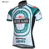Moxilyn Cycling Jerseys PJ-1-F / XS Drunk Again Cycling Jerseys
