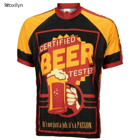 Certified Beer Tester Cycling Jersey
