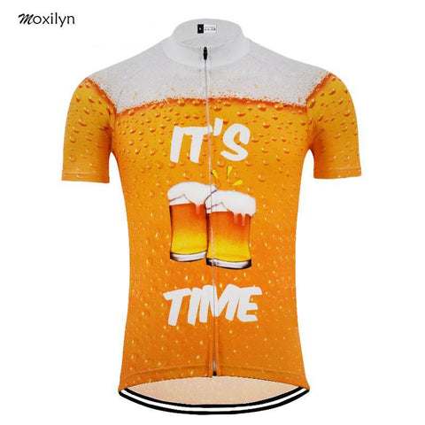 It's Beer Time Cycling Jersey
