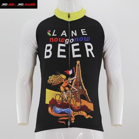 Lane Now Go Now Beer Cycling Jersey