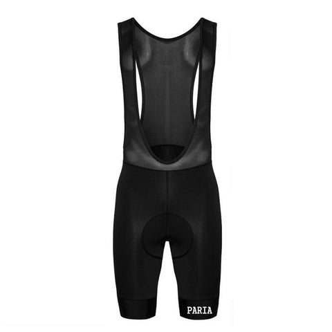 Paria Men's Pro Black BIB Shorts