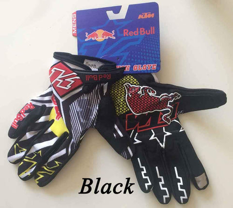 Red Bull MTB Cycling Bike Gloves