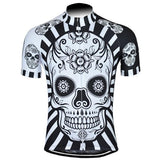 Skull Day of Dead Retro Cycling Jersey