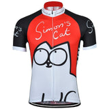 Retro Cycling Jersey Simon's Cat Retro Cycling Jersey