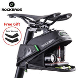 ROCKBROS Rainproof Bicycle Bag Shockproof Bike Saddle Bag
