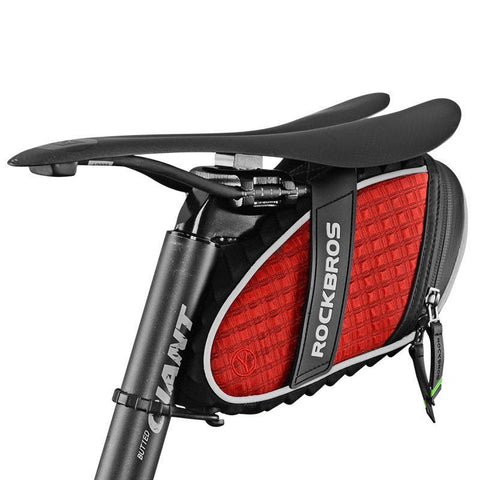 ROCKBROS MTB Bicycle Bag 3D Shell Saddle Rainproof Tail Rear Bag