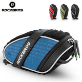ROCKBROS Bicycle Saddle Bags ROCKBROS MTB Bicycle Bag 3D Shell Saddle Rainproof Tail Rear Bag