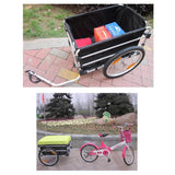RockBros 20 Inch Bike Cargo Luggage Trailer With Rain Cover