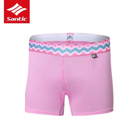 Santic Boya Pink Women Padded Cycling Underwear