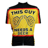 This Guy Needs A Beer Bike Cycling Jersey
