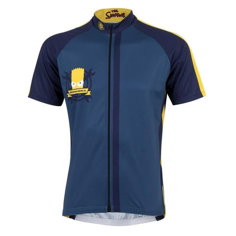 The Simpsons Team Jersey Full Zip Springfield Riding Company