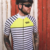 Stolen Goat Men's Bodyline Koga Yellow Cycling Jersey