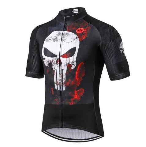 Punisher Superhero Cycling Jersey