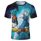 Superhero Cycling T-Shirts T04743 / XXS Dragon Ball Super Goku Super Saiyan Blue T-Shirt