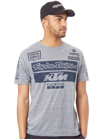 Troy Lee Designs Grey KTM Team T-Shirt