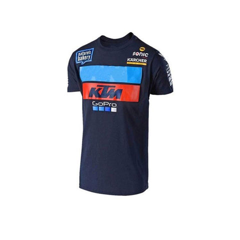 Troy Lee Designs Navy KTM Team Cycling T-Shirt