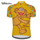 Widewins Cycling Jerseys Blue / XXS Zoe Sesame Street Cycling Jersey