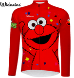 Elmo Sesame Street Long Sleeve Cycling Jersey
