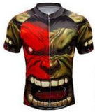 Widewins Cycling Jerseys XXS Incredible Hulk Cycling Jersey