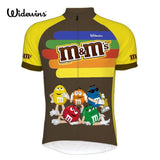 Widewins Cycling Jerseys XXS M&Ms Team Cycling Jersey