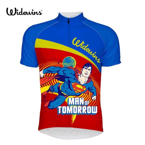 Superman Man Of Tomorrow Cycling Jersey