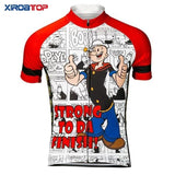 Strong To Da Finish Popeye Cycling Jersey
