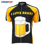 Xiroatop Cycling Jerseys 04 short jersey / XXS I Love Beer Cycling Jersey
