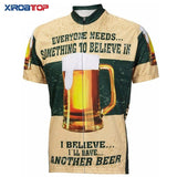 XIROATOP Cycling Jerseys 06 short jersey / XXS I Believe I'll Have Another Beer Cycling Jersey