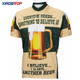XIROATOP Cycling Jerseys I Believe I'll Have Another Beer Cycling Jersey