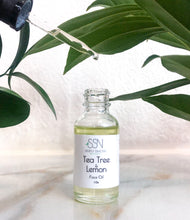 Tea Tree and Lemon Face Oil