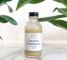 Geranium and Frankincense Face Wash