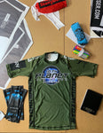 OD Green 10P Bethlehem Cruz Combat Rash Guard