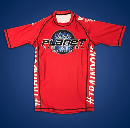 Red 10 P Bethlehem Rash Guard