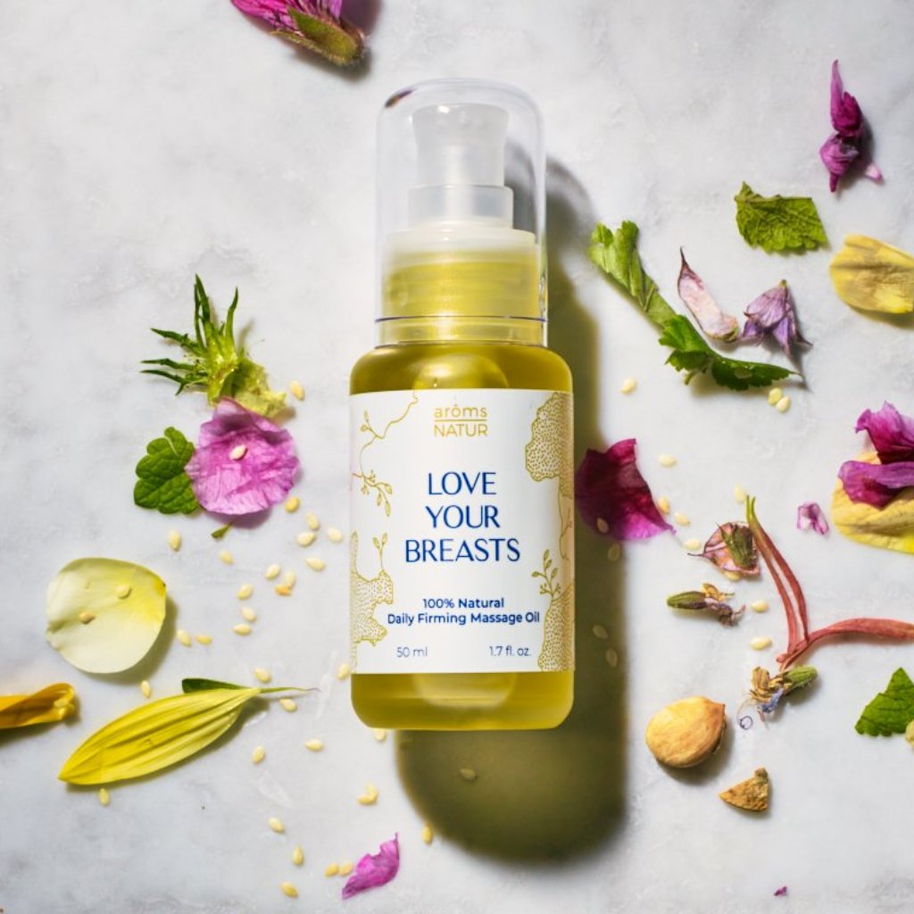 LOVE YOUR BREASTS, 100% Natural Daily Breast Firming Oil