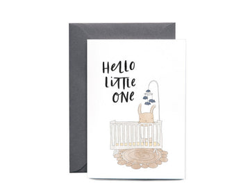 Baby Crib | Greeting card