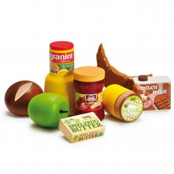 Wooden Breakfast Assortment