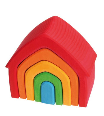Stacking House | Rainbow