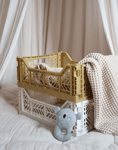 Folding crate | Gold