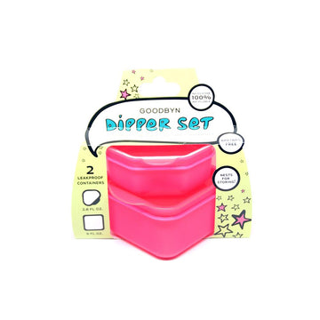 Dipper Set | Neon Pink Red