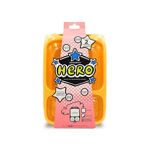 Hero Lunchbox | Neon Orange