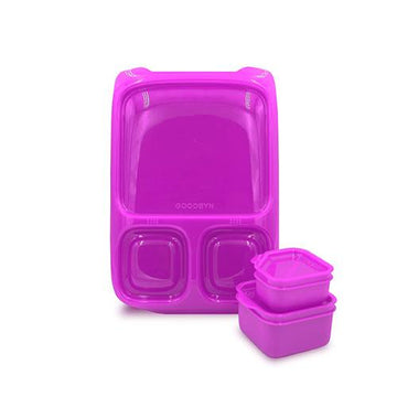 Hero Lunchbox | Neon Purple