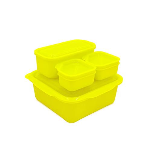 Portions On-The-Go Set | Neon Yellow Green