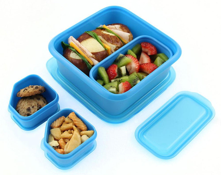 Portions On-The-Go Set | Neon Blue