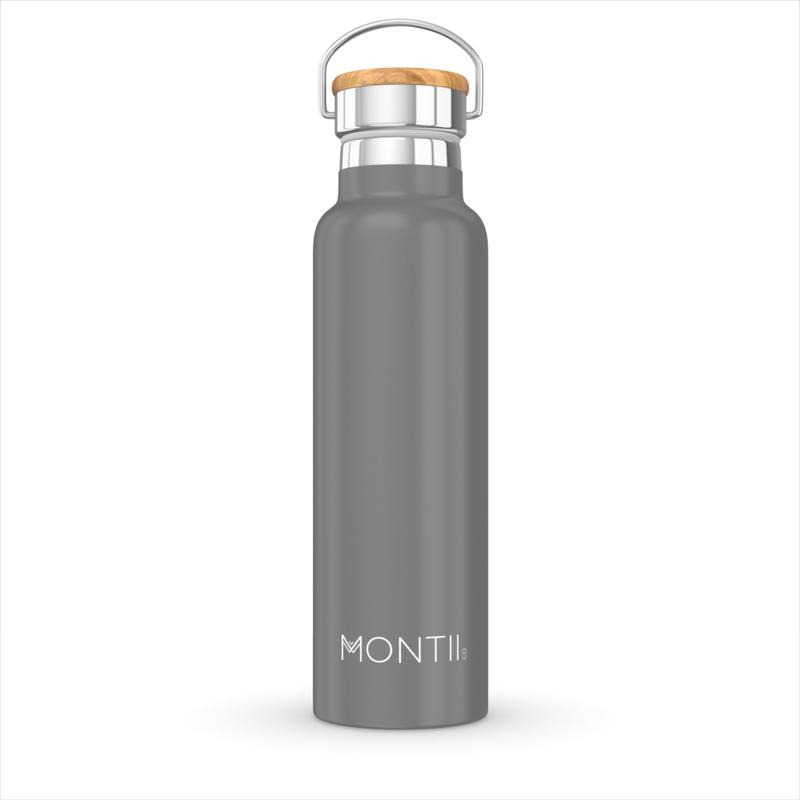 Stainless Steel Drink Bottle | Grey