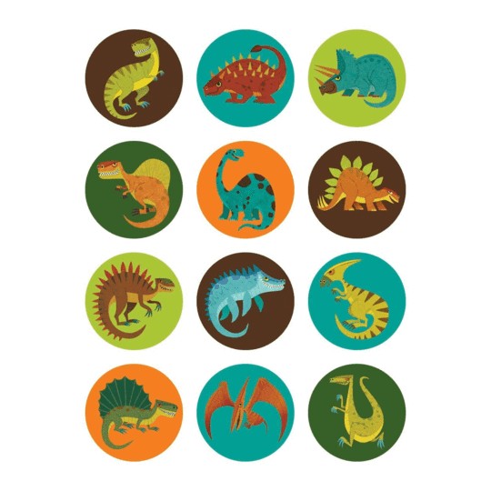 Dinosaurs Mini Memory Match Game