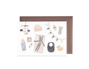 Baby Items | Greeting card